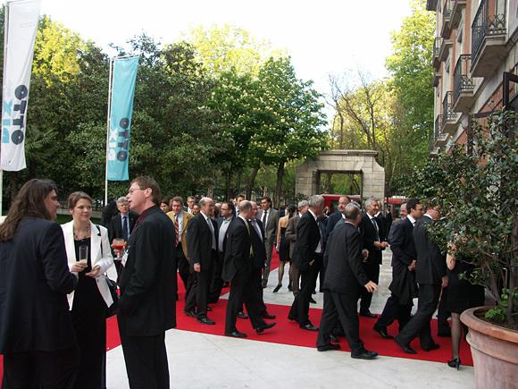 Recepción en el Thyssen en Madrid.